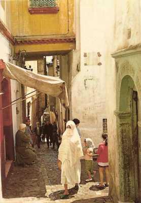 La Casbah - Une ruelle