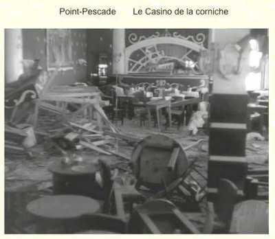 La bombe au Casino la Corniche