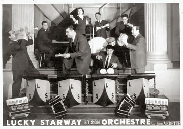 l'orchestre Lucky STARWAY Alger Casino de la Corniche