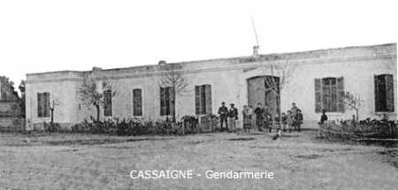Cassaigne La Gendarmerie