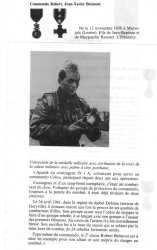 Commando Jean-Xavier BREMONT Mort au Champ d'Honneur  le 24 Avril 1961 sur le djebel Debissa