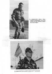Sergent-Chef Arthur SMET reporter photographe  du Commando COBRA  Sergent-Chef HERAL