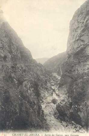 CHABET-EL-AHKRA - les gorges