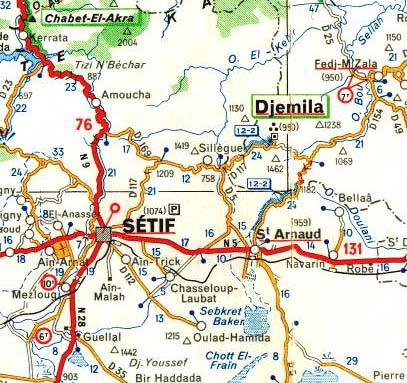 CHABET-EL-AHKRA ... au nord de SETIF