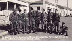 Commando de Chasse en KABYLIE ---- BOUZOUREN MECHAT DIF Sergent LE PERLIER Sgt Chef ATHIEL ADOUL RAHIA GUERRACHE Sgt MILONET LAMALLI