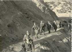 Escalade d'un Piton Commandos de chasse et Harkis de PASTEUR