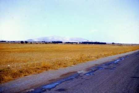CHATEAUDUN-du-RUMMEL  Les environs en arrivant de Constantine