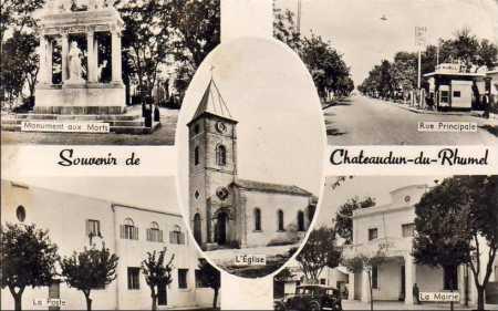 CHATEAUDUN-du-RUMMEL - Souvenirs