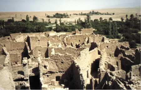 Les ruines de CHELLALA