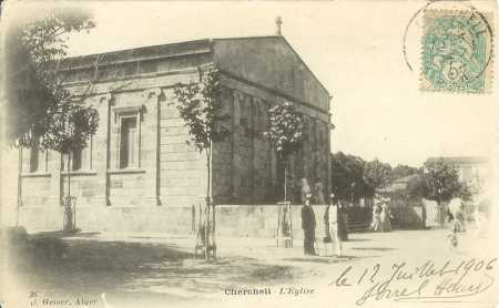 CHERCHELL - L'Eglise - 1906