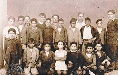 CLINCHANT - La classe de Mr LINARES - 1948