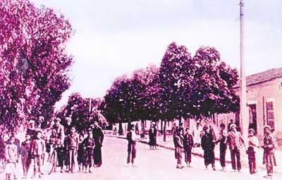 CLINCHANT - La rue principale - 1950