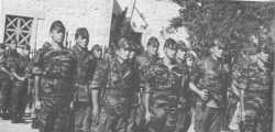 Mars 1960.  1er Cdo aux ordres du Lt Philippe de CHABALLIER, dit Cobra 2