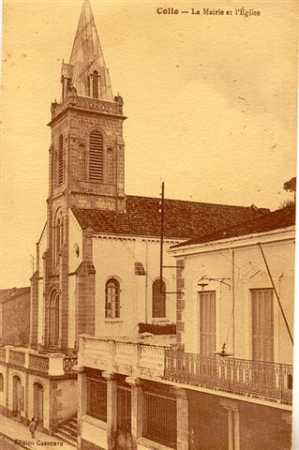 COLLO - L'Eglise et la Mairie
