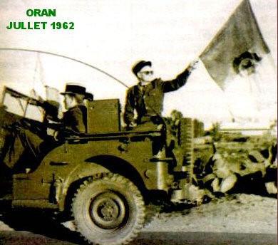 ORAN 5 juillet 1962 Collusion des Gendarmes avec le FLN