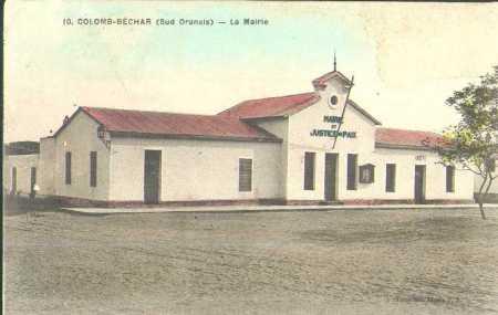 COLOMB-BECHAR - la Mairie