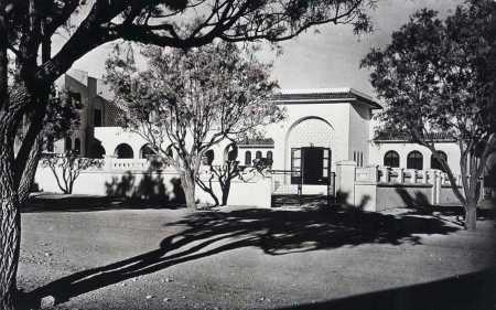 COLOMB-BECHAR - le centre d'accueil