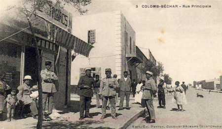 COLOMB-BECHAR - La Rue Principale