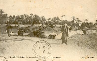 COLOMB-BECHAR Campement de Nomades