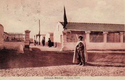 COLOMB-BECHAR - le camp COSTE