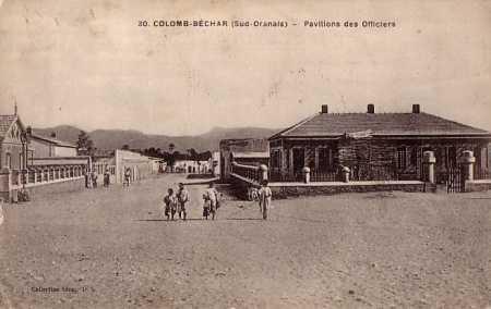 COLOMB-BECHAR Pavillon des Officiers