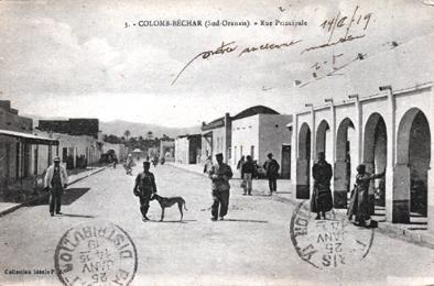 COLOMB-BECHAR La rue principale
