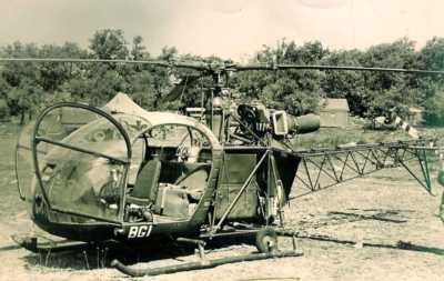 Alouette II Servant de PC volant