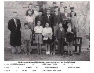CONDE-SMENDOU 1953 - CM2  L'Ecole Communale