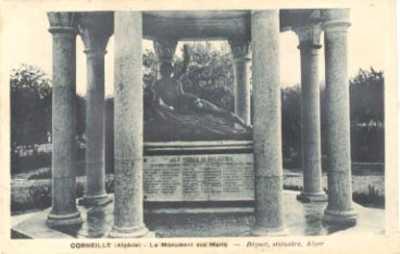 CORNEILLE Le Monument aux Morts