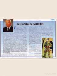 """Article pris dans la revue """"Debout les Paras""""  par M. Jean Claude Sanchez"""