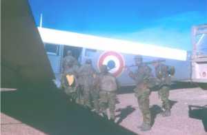 Embarquement dans un JU 52