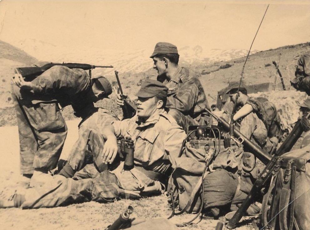Commandos de l'Air fin 1957