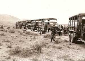 Rame de GMC transportant le CPA 50