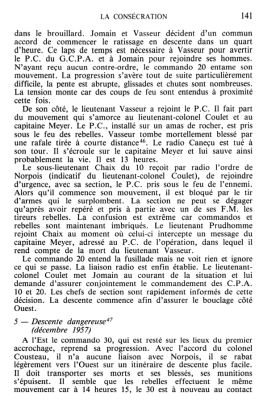 la mort du Lieutenant VASSEUR  et du radio CANECU