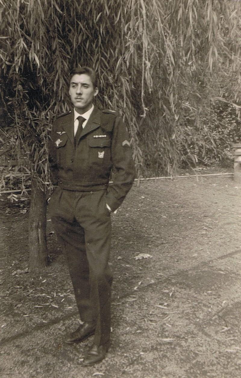 Caporal Jean CARDON  en tenue de sortie. Photo J. Cardon
