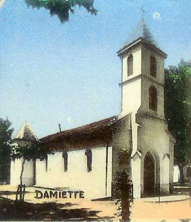 DAMIETTE - L'Eglise