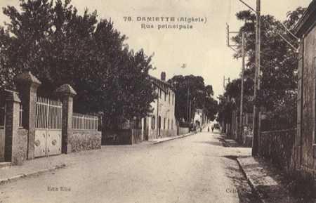 DAMIETTE - La Rue Principale