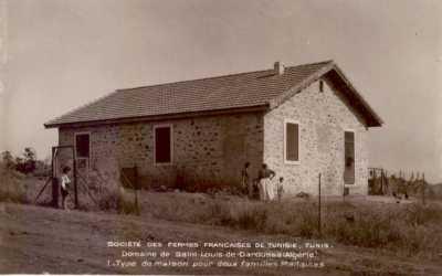 DAHROUSSA Type de maison pour 2 familles
