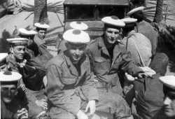 Fusilliers de la DBFM en 1960 au Cap Matifou.