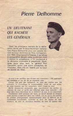 Lieutenant Pierre DELHOMME