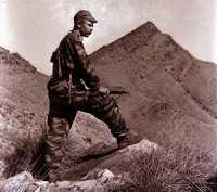 Joseph MAHOUIN  du Commando marine De Montfort en surveillance  Photo de Mahouin Joseph