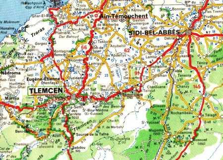 DESCARTES  entre TLEMCEN et SIDI-BEL-ABBES