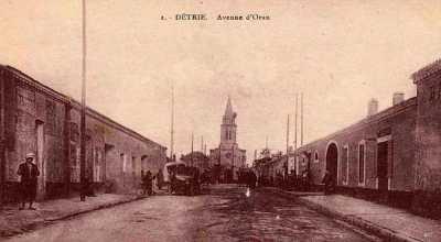 DETRIE - Avenue d ORAN
