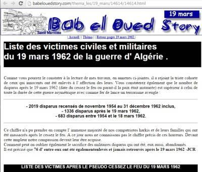 Highlight for Album: Les DISPARUS  Site Bab-El-Oued Story