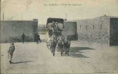 DJELFA - Porte de LAGHOUAT