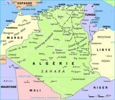 DJELFA, sur la diagonale RABAT / TUNISIE