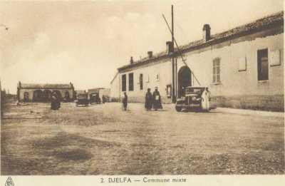 DJELFA  La Commune Mixte vers 1930