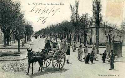 DJELFA - La Grande Rue en 1907