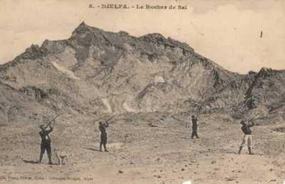 DJELFA - Le Rocher de Sel