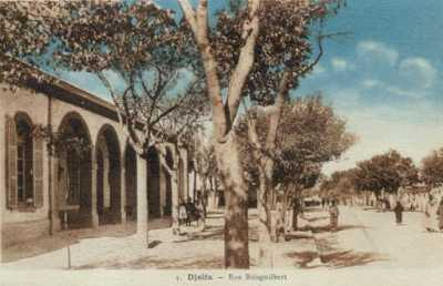 DJELFA - La Rue Boisguilbert